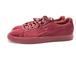 Puma Clyde Shoes Size 9.5 - Maroon - Mens - $24.74