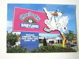 Vintage Cabbage Patch Kids Post Card 2002 BabyLand General Hospital -L9 - $3.91