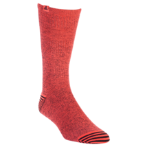 Adidas Soccer Tango Crew Sock Men sz 6 - 12 Heather Infrared/ Red Ulitma... - $13.59