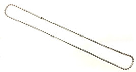 Bead Men's Stainless Steel Stainless Steel Necklace - $29.00