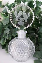"RARE Vintage Czech Perfume Scent Bottle~""Love Birds""~Dauber Intact~Signe... - $311.99"