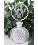 "RARE Vintage Czech Perfume Scent Bottle~""Love Birds""~Dauber Intact~Signe... - $389.99"