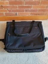 "American Tourister Hanging Garment Bag, Black Canvas 24"" X 40"" - Vgc - $50.49"