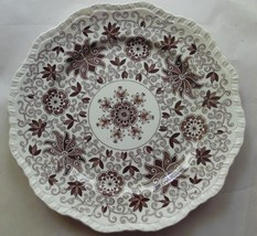 "Vintage Mason's Bow Bells Brown Dinner Plate 10.75"" - $19.00"