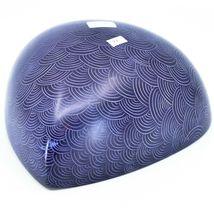 Vaneal Group Hand Carved Kisii Soapstone Purple Heart Decorative Bowl Kenya image 3