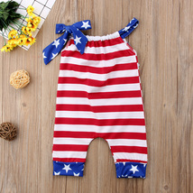 Infant Baby Girl  Outfit Romper Tutu Pants Headband 3PCS SET  Newborn Baby Girls image 6