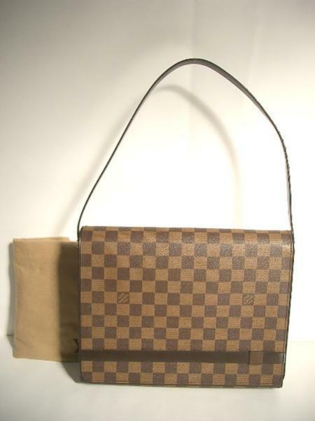 Louis Vuitton Tribeca Carre Shoulder Bag LV free shipping from Japan