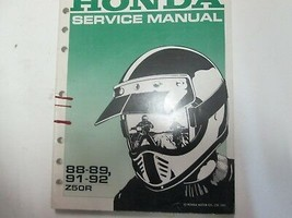 1988 1989 1991 1992 HONDA Z50R Service Shop Repair Manual FACTORY OEM US... - $48.70