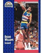 Reggie Williams ~ 1991-92 Fleer #54 ~ Nuggets - $0.05