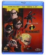 Disney The Incredibles (Blu-ray/DVD Combo) - $17.95
