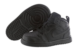 Air Jordan 1 Mid Flex (TD) 554727-010 Infant / Toddler Sneakers Basketba... - $41.99