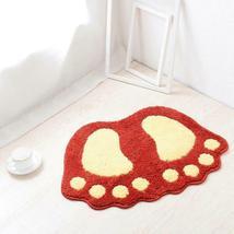 Bath Mats Water Absorption Mini Carpet Foot Print Non Slip Toilet Microfiber Pad image 10
