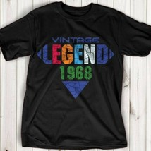 Vintage Men's 50th Birthday In 1968 My Mother Created A Legend T-shirt US - $9.05+