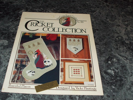 The Cricket Collection No 20 Vicki Hastings Cross Stitch - $2.96