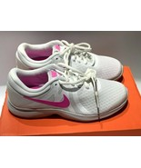 Women's Nike Air Revolution 4 White & Pink Sneakers Size 5 - $40.00