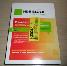 H&R Block Tax Software ~ 2012 Premium Self Employed, Rental Property Owners - $11.83