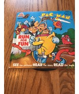 """Talking Story Book PAC- Man Run For Run page Song Book & 7"""" Record - $14.83"""