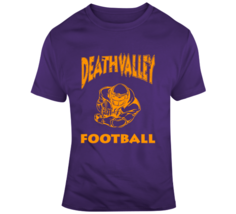 Death Valley National Champs Distressed Football Fan T Shirt - $21.99+
