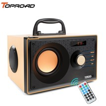 TOPROAD® Portable Bluetooth Speaker Wireless Big Power Speakers Stereo S... - $62.40