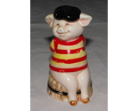 "Danbury Mint Piggies ""France's Bacon"" Pig Figurine 1 of 25 Pig Statue Piggies"