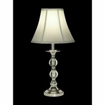 """Dale Tiffany GT10169 Marianne Table Lamp, 10"""" x 10"""" x 19"""", Polished Chrome - €64,86 EUR"""