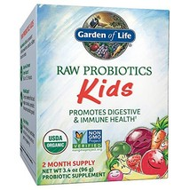 Garden of Life - RAW Probiotics Kids - 3.4 oz Shipped Cold