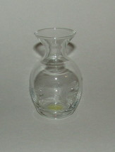 Princess House Vase Crystal New 476 Handblown Handcut 3.75 inch High  - $24.24