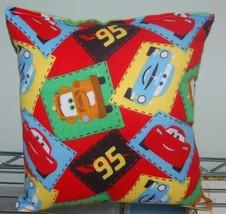 Cars Pillow Disney Nursery Cars Pillow Matter & McQueen Pillow HANDMADE ... - $9.99