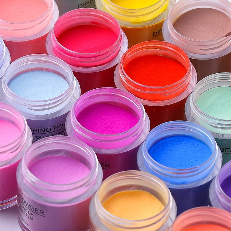 Matte Color Manicure Powder Nail Dipping Powder Nail Art Decorations  03 image 3