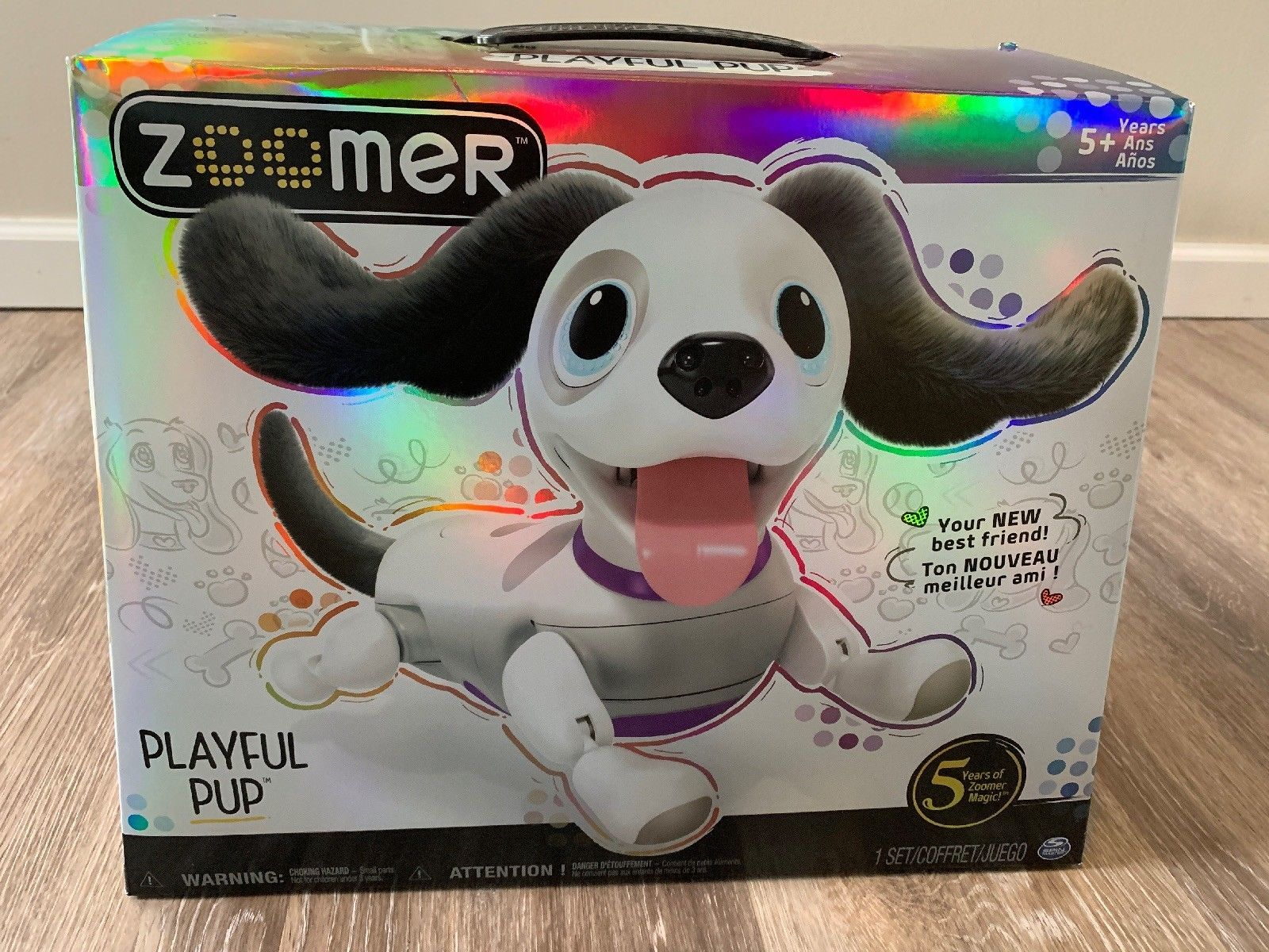 Zoomer Playful Pup Realistic Interactive Robotic Dog with Voice Recognition