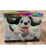 Zoomer Playful Pup Realistic Interactive Robotic Dog with Voice Recognition - $39.94