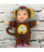Baby's First Sing and Learn Doll in Monkey Suit says ABC's & 123's Stuff... - $14.84