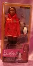 Mattel Barbie National Geographic Polar Marine Biologist Doll Penguin  - $12.99