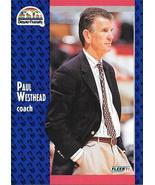 Paul Westhead ~ 1991-92 Fleer #53 ~ Nuggets - $0.05