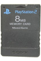 Official Genuine OEM Sony PlayStation 2 PS2 Memory Card Black 8MB free s... - $13.36 CAD
