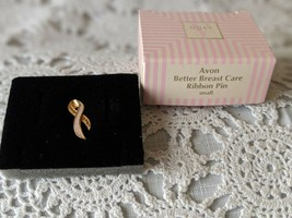 Avon Designer Signed Better Breast Cancer Ribbon Pin Small - $7.75