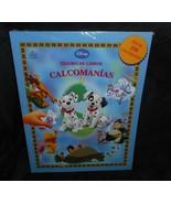 Disney Tesoro De Libros Calcomanias Spagnolo Storia Imparare W/350 Adesivi - $17.59