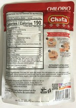 1 Pack of Chata Chilorio Mexican Taco Shredded Seasoned Pork Meat 8.8 oz 7/2022 image 2