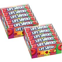Life Savers 5 Flavors Hard Candy Rolls 20-Count Box - $24.45