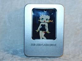 Betty Boop Black Dress 2GB USB Flash Drive Westland Giftware 20163 Schoo... - $22.76