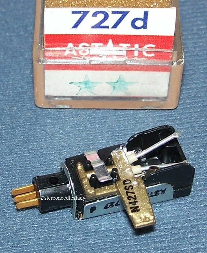 ASTATIC 727d CARTRIDGE NEEDLE for Airline V-M 33701-B Westinghouse 671V028B01