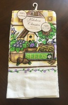 """Better Home Kitchen Classics Printed Velour Towel 15 X 25"""" - $7.95"""