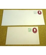 USPS Scott U545 4c Envelope 1c Surcharge Franklin Lot of 2 Violet - $6.08