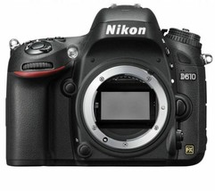 Nikon D610 24.3 MP CMOS FX-Format DSLR Camera (Body Only) Displayed image 1