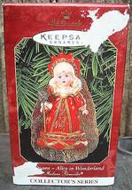 1999 Hallmark Madame Alexander Red Queen Alice in Wonderland Ornament - $12.99