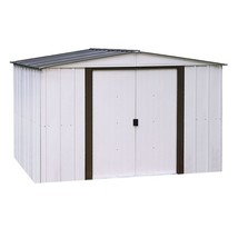 Metal Storage Shed Corrosion Resistance Over Six Hundred Cubic Feet Buil... - $478.79