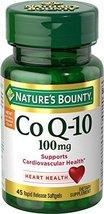 Nature's Bounty CoQ10, Rapid Release Softgels, 45 Count - $18.99
