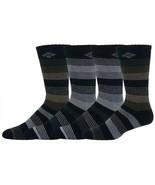 Columbia 4-pack Wool-Blend Striped Crew Socks Mi-Chaussettes Men's 6-12 - $13.86