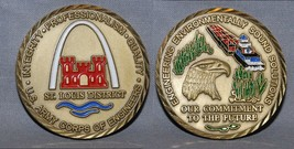"""ARMY ENGINEERS St. Louis """"arch"""" Environmental Solutions challenge coin - $21.77"""