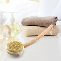 Honana Body Cleaning Brushes Circular Massage Bristle Brush Detachable B... - $28.98